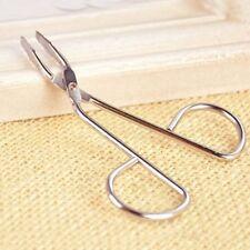 Scissors Flat Tip Eyebrow Tweezers Clamp Clipper Stainless Steel Hair Remove