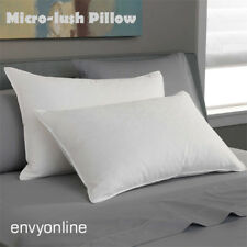Twin Pack Luxury MICRO-LUSH Standard Size Pillow Pure Cotton Cover
