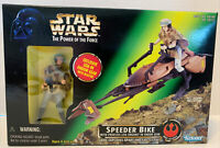 New Star Wars Princess Leia In Endor Gear Speeder Bike Power Of The Force 69727