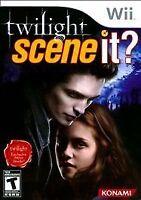 Scene It Twilight (Nintendo Wii, 2009) Complete