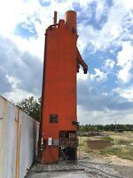 Cement Silo, Ross, Spinks Dash Pot scale, Conveyor auger, concrete plant dry mix