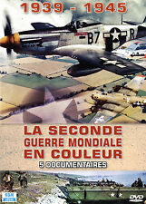 DVD La Seconde Guerre mondiale en couleur : 1939 - 1945 / Coffret 5 DVD
