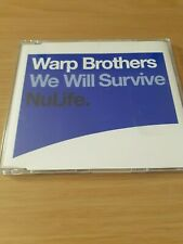 WARP BROTHERS - WE WILL SURVIVE Trance / Dance CD