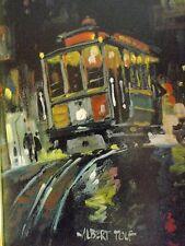 Albert Bertil Tolf 1911-1996  San Francisco Artist - Oil on Board  1968