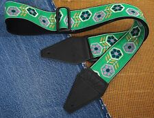 THE BEHOLDER Cotton USA made TROPHY Guitar Strap