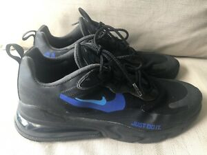 Men's Nike Air 270 React Black Trainers UK Size 9 Shoes