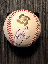 "ERIC HOSMER signed 2017 World Baseball Classic OMLB ~ ""Gold"" ~ JSA/COA"