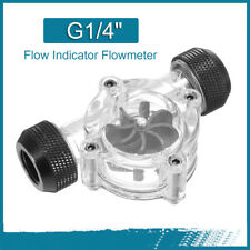 "G1/4"" Flow Indicator Flowmeter SLU-P01 for Liquid Water Cooling Systems"