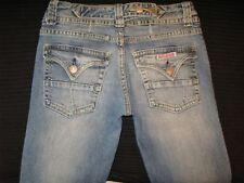 Hudson Jeans Low Boot w Flap Pockets Distressed Sz 28-Run Small Like Sz 26 / 27