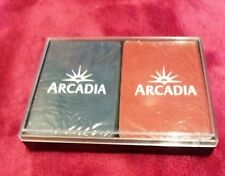 ARCADIA PLAYING CARDS BRAND NEW AND SEALED