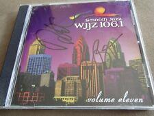 WJJZ 106.1: Smooth Jazz Sampler, Vol. 11 CD, Nov-2004 AUTOGRAPHED BY CHRIS BOTTI