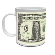 Un dollaro Bill-Soldi / America / stati Uniti / Novità / REGALO a tema TAZZA IN CERAMICA