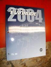 2004 EVINRUDE SR E TECH MODELS 75 90 FACTORY SERVICE MANUAL