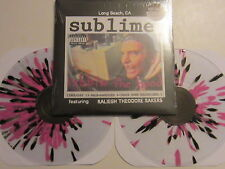 SUBLIME Robbin The Hood DOUBLE LP CLEAR w/PINK/BLACK SPLATTER VINYL UNPLAYED