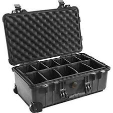 Pelican 1510 Case With Padded Dividers (Black) New