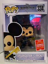 Organization 13 Mickey Kingdom Hearts 3 2018 Summer Convention Edition Funko pop