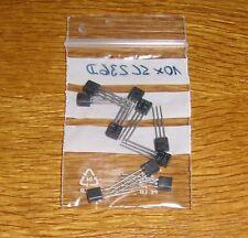 10 Transistoren  SC 236 D ( = BC 170 )