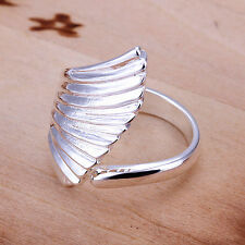 925 Silver Plated Angel Wing Ring/Thumb Ring Women Jewelry ***UK Seller***