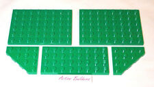 Lego Green Plate 4x8, 6x8 Plant Grass Tree Garden 60021