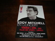EDDY MITCHELL - FLYER CONCERT PALAIS DES SPORTS AVRIL !