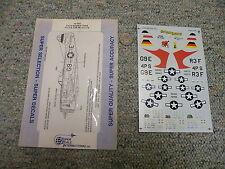 SuperScale decals 1/72 72-562 P-47D Bubble Tops 410 FS 509 FS 513 FS  J108