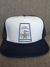 Vtg Kinsmen Telemiracle 1982 Mesh Snap Back Hat 80's Canada Saskatchewan SK