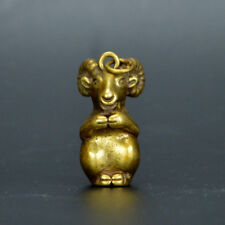 Collection archaize brass sheep small statue
