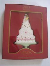 Lenox American by Design Wedding Cake Ornament 2011