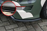 Heckansatz Diffusor Seitenteile Splitter ABS für Ford Focus RS DA3 schwarz glanz