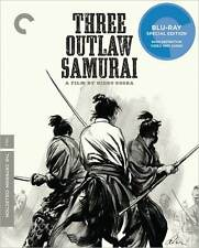 CRITERION COLLECTION: THREE OUTLAW SAMURAI - BLURAY - Region A - Sealed
