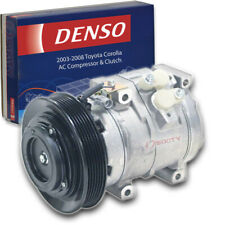 Denso Ac Compressor & Clutch for Toyota Corolla 1.8L L4 2003-2008 Hvac Air cl