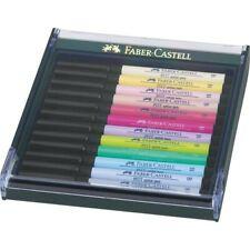 Faber-Castell PITT Artist Pen brush 12er Etui Pastell