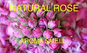 Scented Pink Rose Buds/Dried Rose Buds/Potpourri/Soap/Candle Making 10g - 1kg
