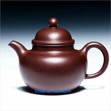 Chinese Yixing zisha teapot handmade hand craft teapot 400cc