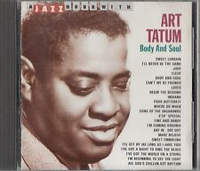 ART TATUM - Body & Soul -A Jazz Hour With CD -Los Angeles 1938/1946/V Discs