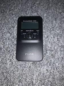 Pure PocketDAB 1500 DAB Digital & FM Radio SPARES OR REPAIR