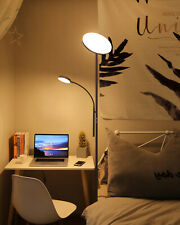 Dimmable Floor Lamp, Bright Tall Mother-Daughter LED with...