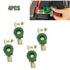 Car Battery Link Terminal Quick Cut-off Disconnect Master Kill Shut Switch Trims