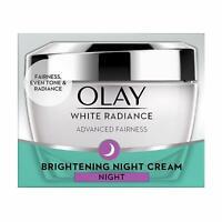 Olay White Radiance Brightening Night Essence Cream Moisturiser 50 gm
