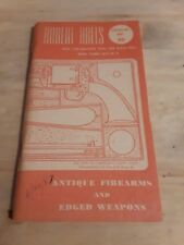 Antique Firearms and edged weapons Catalog 30 robert ables
