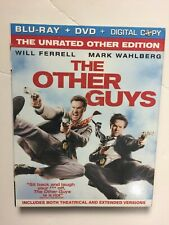 The Other Guys (Blu-ray/Dvd, 2010, 2-Disc Set) New w/slipcover