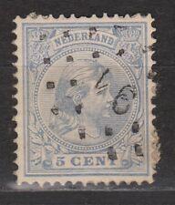NVPH Netherlands Nederland 35 TOP CANCEL ROTTERDAM (91) Wilhelmina 1891