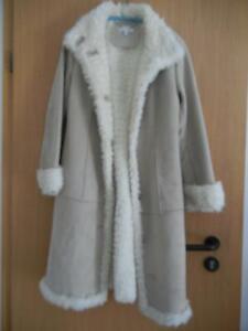 Damenmantel Mantel Schaffell Mantel Jacke Optik NEUWERTIG Größe 36 von APART