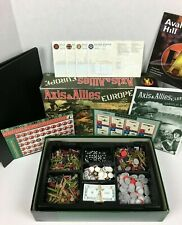 Axis and Allies Europe Board Game 1999 Avalon Hill Hasbro 41313  Strategy game