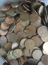 More details for 1961-1967 elizabeth ii one penny coins from bulk | bulk coins | pennies2pounds
