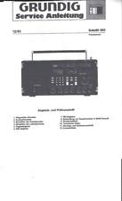 Grundig Service Manual per satellite 600 copy