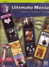 ULTIMATE MOVIE Instrumental Solos Clarinet + CD