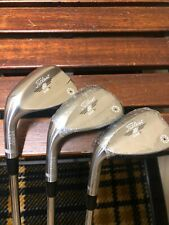 Titleist SM7 Vokey Wedges: 58(New), 54(New), 50(slightly used) Left Handed Tour