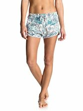 Roxy Hollow Dance Printed Marshmallow Beyond Shorts Sz Small ERJFB03110