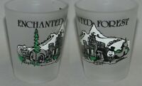 Enchanted Forest Countryside Shot Glass #5201